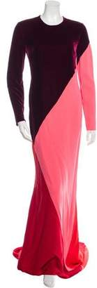Stella McCartney Colorblock Maxi Dress w/ Tags