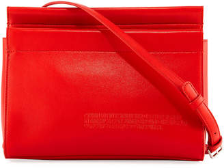Calvin Klein Top Zip Luxe Crossbody Bag
