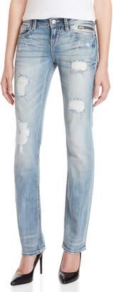 Miss Me Signature Straight Leg Jeans