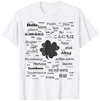 Greetings T-shirt and luck