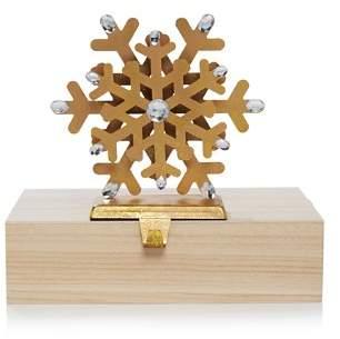 Bloomingdale's Iron Snowflake Stocking Holder - 100% Exclusive