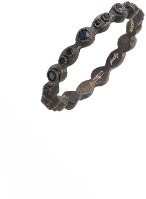 Armenta Old World Black Stackable Ring
