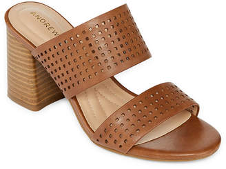 Andrew Geller Eve Womens Heeled Sandals