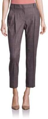 Peserico Plaid Cropped Pants