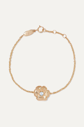 Aurelie Bidermann 18-karat Gold Topaz Bracelet
