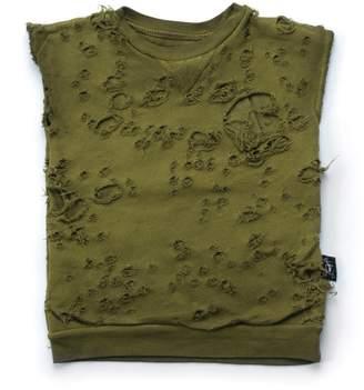 Nununu Youth Boy's Torn Sleeveless Shirt