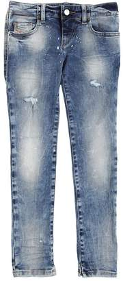 Diesel Skinny Splatter Stretch Denim Jeans