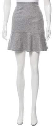 Rag & Bone Wool-Blend Mini Skirt