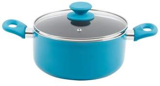 Gibson Home 4 Qt Dutch Oven W/Lid in Blue