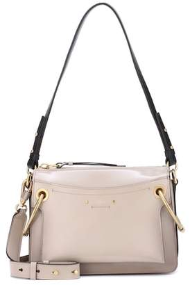 Chloé Small Roy patent leather shoulder bag