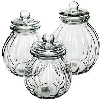 Global Amici Kada 3 Piece Storage Jars Set