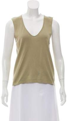 Armani Collezioni Sleeveless Knit Top