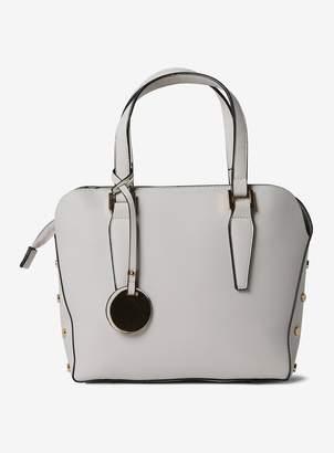 Dorothy Perkins Womens Bone Mini Studded Tote Bag