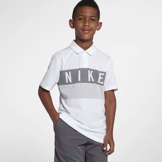 Nike Dri-FIT Big Kids' (Boys') Golf Polo
