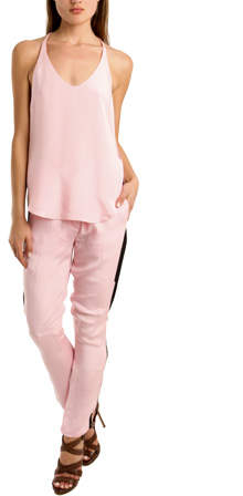 3.1 Phillip Lim Side Panel Trouser in Pink 4