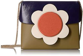 Orla Kiely Giant Flower Leather Sweet Pea Bag