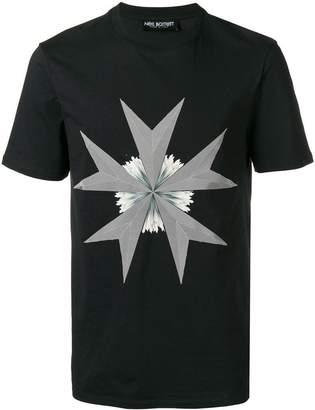 Neil Barrett graohic print T-shirt