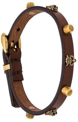 Gucci studded bracelet