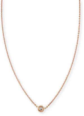 Roberto Coin 18k Gold Single Diamond Necklace