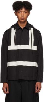 Craig Green Black Harness Hooded Shirt