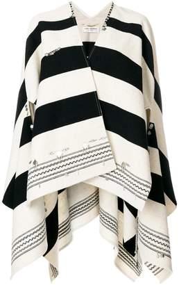 Saint Laurent embellished draped jacket