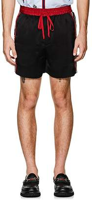 Gucci Men's Logo Tech-Twill Shorts