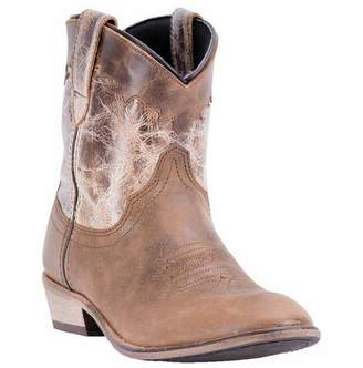 Dingo Womens Fashion Boots Leather Cowboy Boots Round Toe 8 M