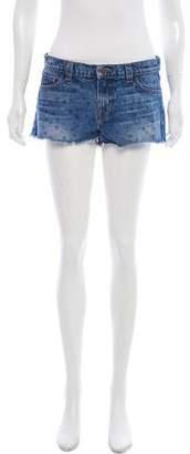 J Brand Printed Denim Shorts
