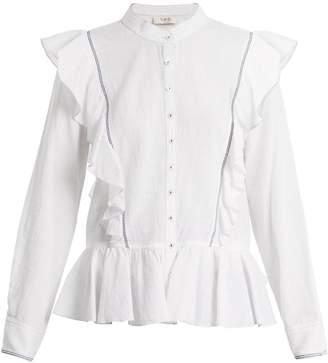 Sea Vienna cotton-voile blouse