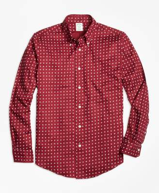 Brooks Brothers Milano Fit Printed Paisley Sport Shirt