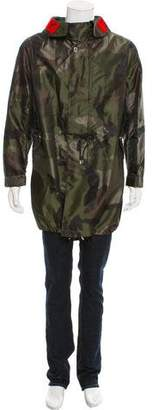 Givenchy Camo Parka Coat