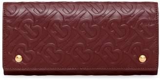 Burberry monogram Continental wallet
