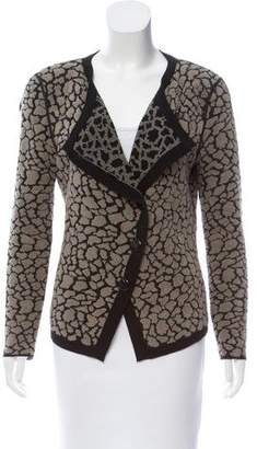 Armani Collezioni Tailored Asymmetrical Cardigan