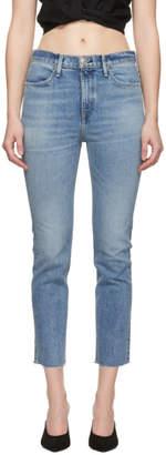 Rag & Bone Blue Ankle Cigarette Jeans