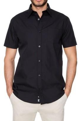 663f6e99 Lee Young Men's Short Sleeve Dress Shirt