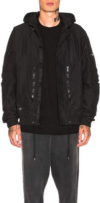 John Elliott Parachute Jacket in Black | FWRD