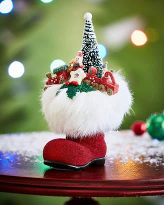 Ino Schaller Santa Boot with Toys Christmas Collectible