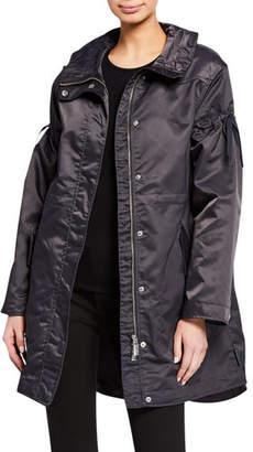 Hunter Refined Drawstring Waterproof Coat
