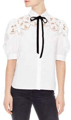 Sandro Cotton Western Shirt