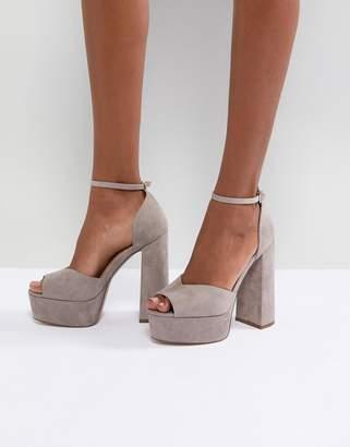 Asos Design HAWKER Platform Sandals