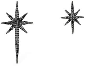 FEDERICA TOSI MISMATCHED ASYMMETRICAL STARS EARRINGS