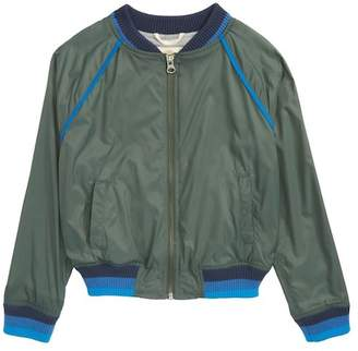 Tucker + Tate Stripe Bomber Jacket (Toddler Boys, Little Boys & Big Boys)