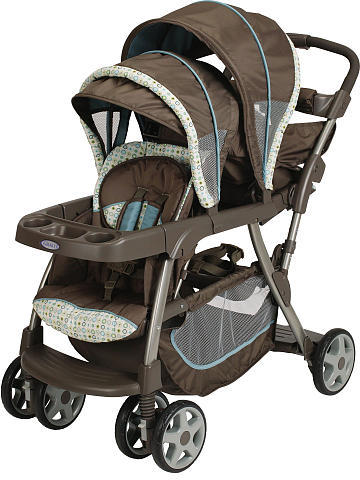 Graco Ready2Grow LX Stand & Ride Stroller - Oasis
