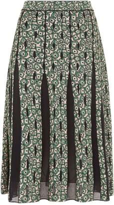 M Missoni Patterned Midi Skirt