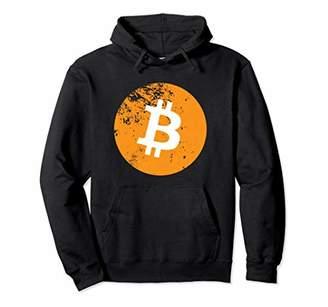 Hoodie Bitcoin Logo Washed Look