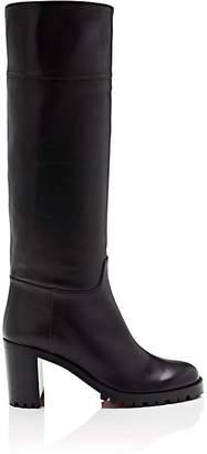 Christian Louboutin Women's Kari Leather Knee Boots