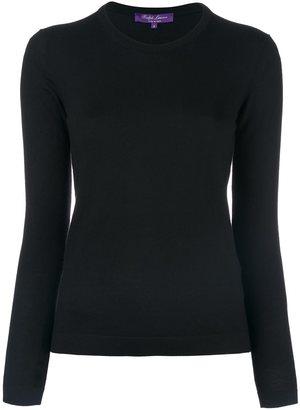 Ralph Lauren round neck fitted jumper $662.34 thestylecure.com