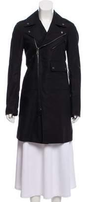 Belstaff Knee-Length Zip-Up Jacket