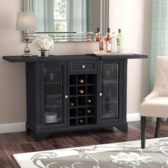 Co Darby Home Abbate Sliding Top Bar Cabinet