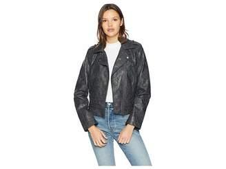 BB Dakota Wrecking Ball Novelty Vegan Leather Jacket